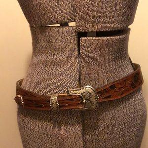 Justin Boots Belt size 36 leather belt